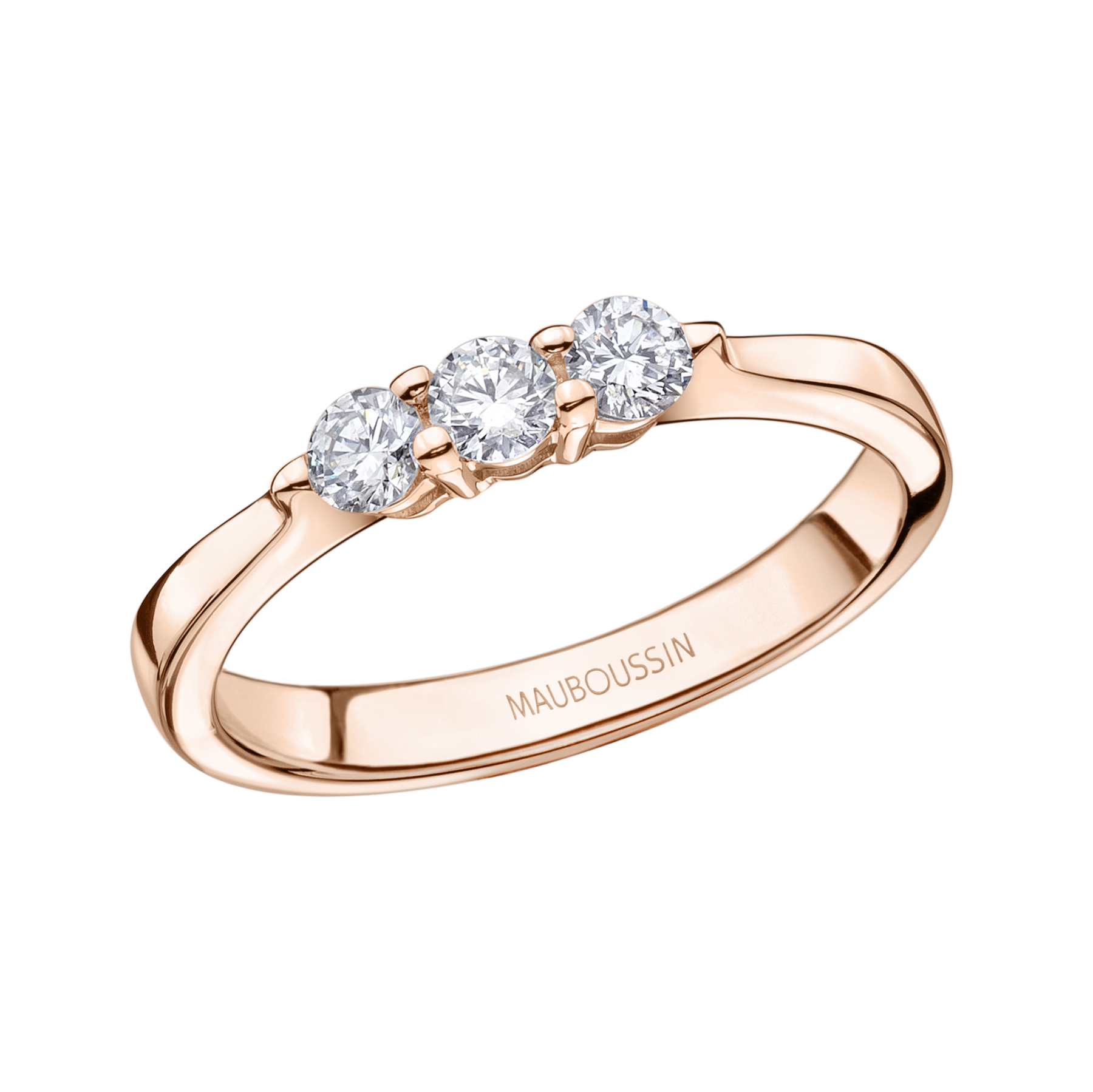 bague diamant rose gold
