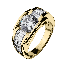 Ring  Alessandra yellow gold and diamonds