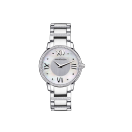 Jardin du Palais Royal watch, white mother of pearl dial, small