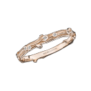 Ring la Passion est un Volcan, pink gold and diamonds