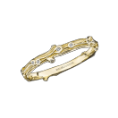 Ring la Passion est un Volcan, yellow gold and diamonds