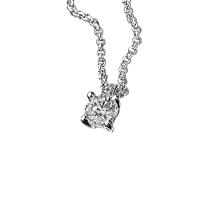 Tu es le Sel de ma Vie N°3, white gold and diamonds