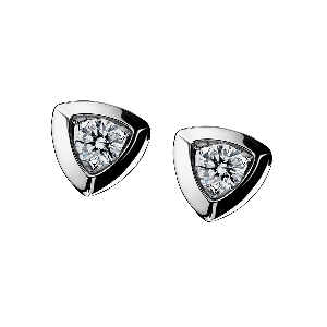 Dream & love Earrings, white gold, 2*0,30 carat approximatively