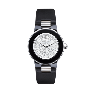 Amour la Nuit watch, fully diamond paved