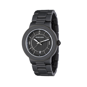 Watch Céramat steel and ceramic, quartz steel and PVD