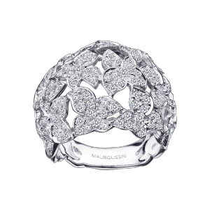 Tellement Sublime Mon Amour ring, white gold and diamonds