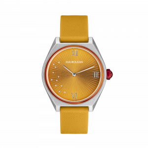 Montre Elle a mis le feu, orange