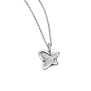 Pendentif Tellement Sublime, white gold, mother of pearl