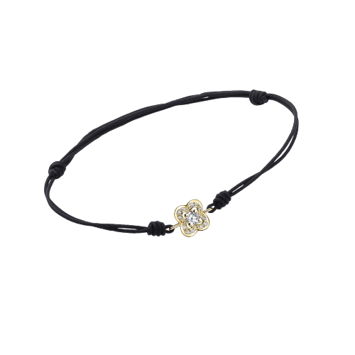 Premier Chance of Love bracelet, yellow gold