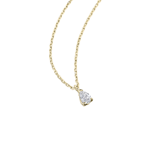 Tu es le Miel de ma Vie pendant, yellow gold and diamond