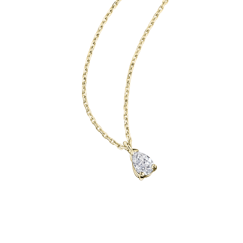 Tu es le Miel de ma Vie, yellow gold and 0.30ct diamond