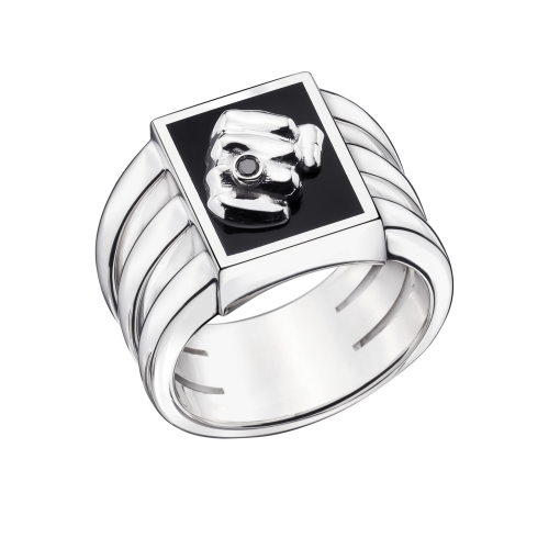 Bague DEAL D'HOMME, motif poing
