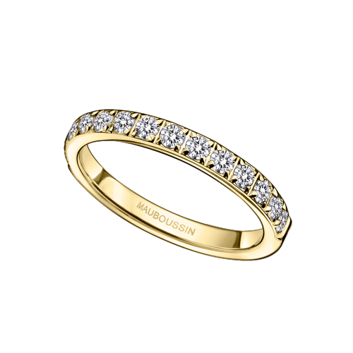 Parce que c'est Toi, yellow gold and diamonds