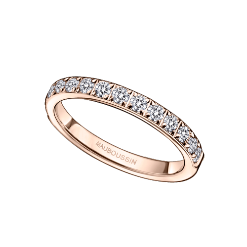 Parce que c'est Toi, pink gold and diamonds
