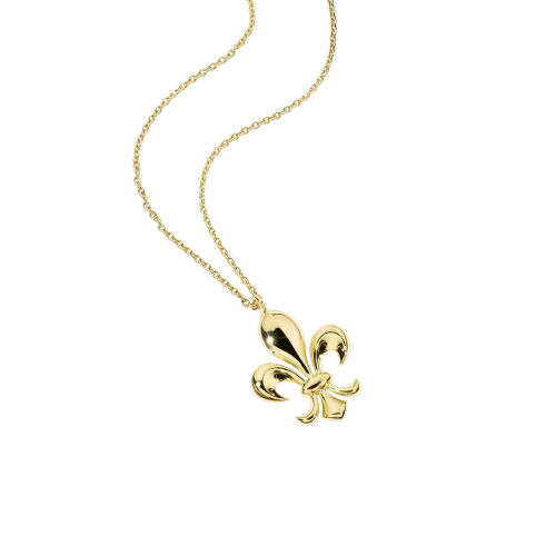 Lys Royal pendant, yellow gold